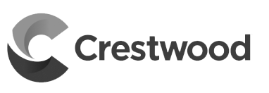 Crestwood Midstream Partners Greyscale Logo