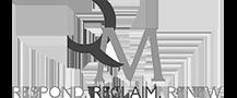 QM logo Grayscale