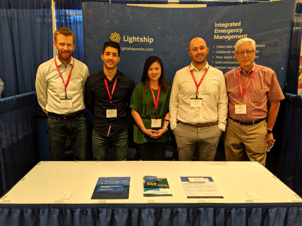 Lightship & QM Environmental team at Clean Pacific Conference